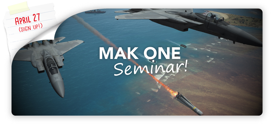 Call Outs left MAK ONE Seminar