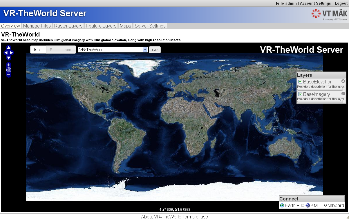 VR-TheWorld Server - VT MAK